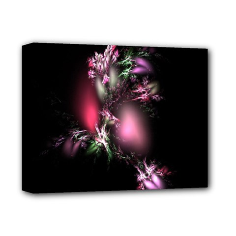 Colour Of Nature Fractal A Nice Fractal Coloured Garden Deluxe Canvas 14  X 11  by Simbadda