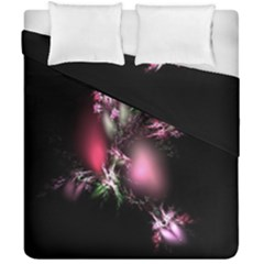 Colour Of Nature Fractal A Nice Fractal Coloured Garden Duvet Cover Double Side (california King Size) by Simbadda