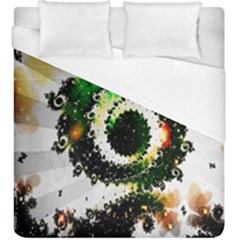 Fractal Universe Computer Graphic Duvet Cover (king Size) by Simbadda