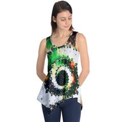 Fractal Universe Computer Graphic Sleeveless Tunic
