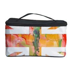 Union Jack Abstract Watercolour Painting Cosmetic Storage Case