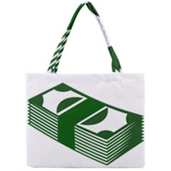 Rich Dollar Money Green Mini Tote Bag