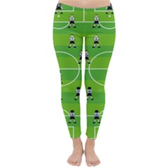 Soccer Field Football Sport Classic Winter Leggings