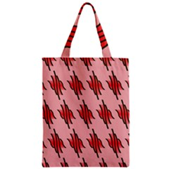 Variant Red Line Classic Tote Bag