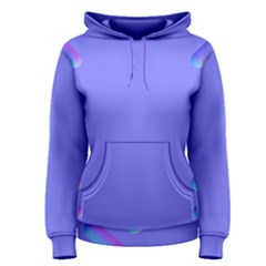 Leftroom Normal Purple Women s Pullover Hoodie