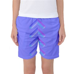 Leftroom Normal Purple Women s Basketball Shorts by Alisyart