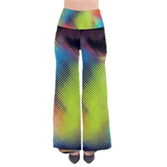 Punctulated Colorful Ground Noise Nervous Sorcery Sight Screen Pattern Pants