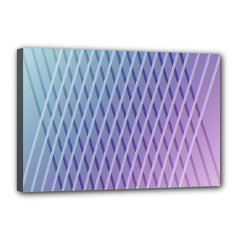 Abstract Lines Background Canvas 18  X 12  by Simbadda