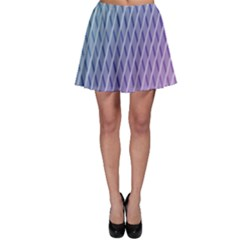 Abstract Lines Background Skater Skirt by Simbadda