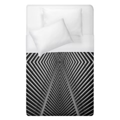 Abstract Of Shutter Lines Duvet Cover (single Size) by Simbadda
