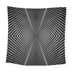 Abstract Of Shutter Lines Square Tapestry (large)