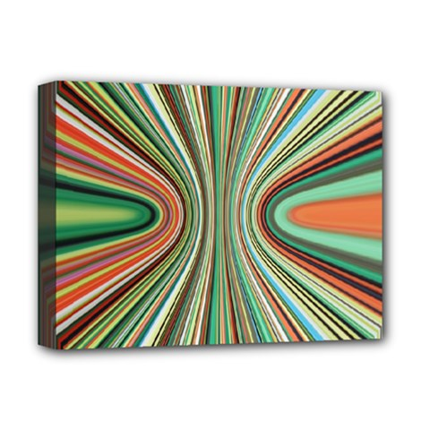 Colorful Spheric Background Deluxe Canvas 16  X 12   by Simbadda