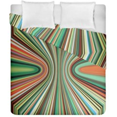 Colorful Spheric Background Duvet Cover Double Side (california King Size) by Simbadda