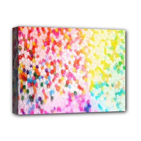 Colorful Colors Digital Pattern Deluxe Canvas 16  X 12