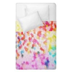Colorful Colors Digital Pattern Duvet Cover Double Side (single Size)