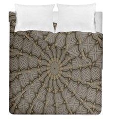Abstract Image Showing Moiré Pattern Duvet Cover Double Side (queen Size)