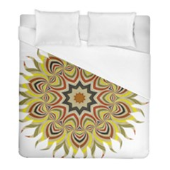 Abstract Geometric Seamless Ol Ckaleidoscope Pattern Duvet Cover (full/ Double Size) by Simbadda