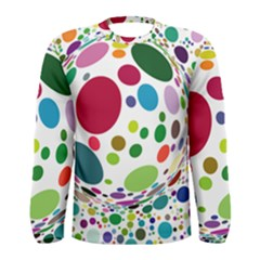 Color Ball Men s Long Sleeve Tee by Mariart