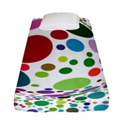 Color Ball Fitted Sheet (Single Size)