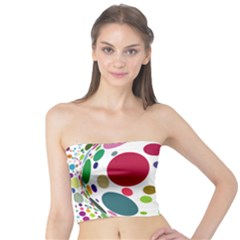 Color Ball Tube Top by Mariart