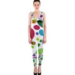 Color Ball OnePiece Catsuit