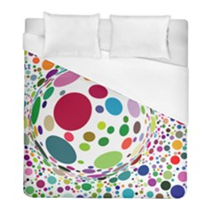 Color Ball Duvet Cover (Full/ Double Size)