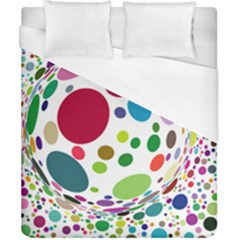 Color Ball Duvet Cover (california King Size)