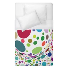 Color Ball Duvet Cover (Single Size)