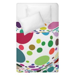 Color Ball Duvet Cover Double Side (Single Size)