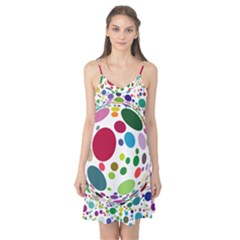 Color Ball Camis Nightgown