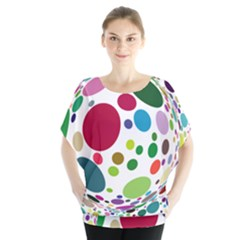 Color Ball Blouse