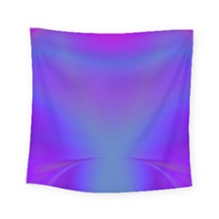 Violet Fractal Background Square Tapestry (small)