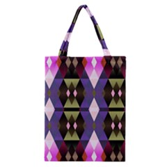 Geometric Abstract Background Art Classic Tote Bag by Simbadda