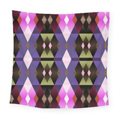 Geometric Abstract Background Art Square Tapestry (large) by Simbadda