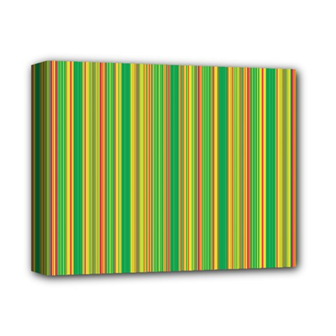 Lines Deluxe Canvas 14  X 11  by Valentinaart
