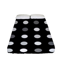 Polka Dots  Fitted Sheet (full/ Double Size)