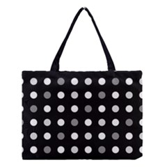 Polka Dots  Medium Tote Bag by Valentinaart