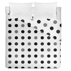 Polka Dots  Duvet Cover Double Side (queen Size)