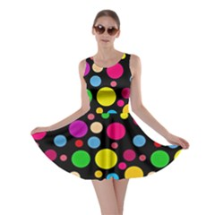 Polka Dots Skater Dress