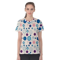 Polka Dots Women s Cotton Tee