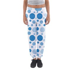 Polka Dots Women s Jogger Sweatpants by Valentinaart
