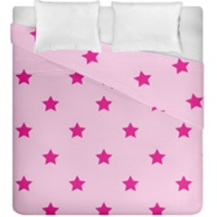 Stars Pattern Duvet Cover Double Side (king Size)