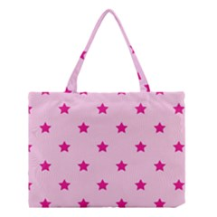 Stars Pattern Medium Tote Bag by Valentinaart