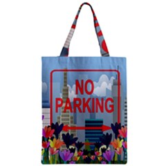 No Parking  Zipper Classic Tote Bag by Valentinaart