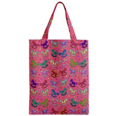 Toys Pattern Zipper Classic Tote Bag by Valentinaart