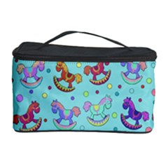 Toys Pattern Cosmetic Storage Case by Valentinaart