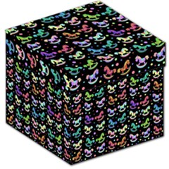 Toys pattern Storage Stool 12