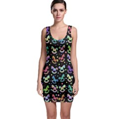 Toys pattern Sleeveless Bodycon Dress