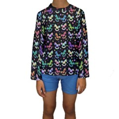 Toys pattern Kids  Long Sleeve Swimwear