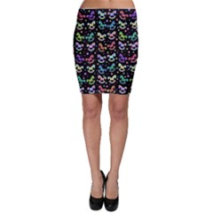 Toys pattern Bodycon Skirt
